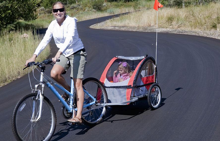 Hur du kan använda din Thule cykelvagn